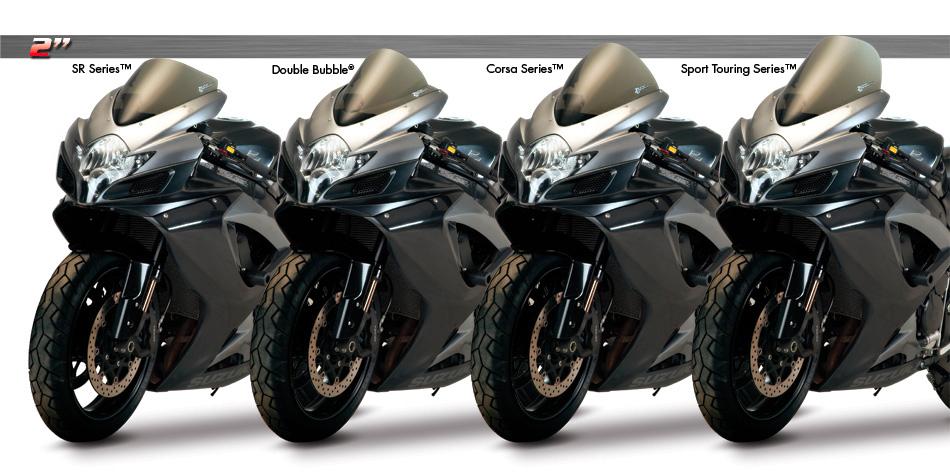 Suzuki gsxr600 (01-03) gsxr750 (00-03) gsxr1000 (01-02) zero gravity windscreen sport touring