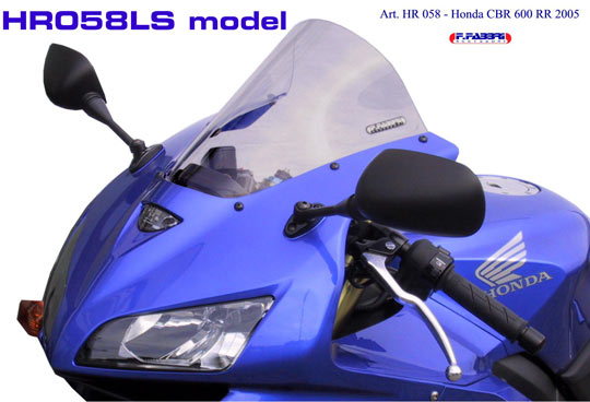 Fabbri Windscreen Hr058c For Honda Cbr 600 Rr 05 06 In Windscreens
