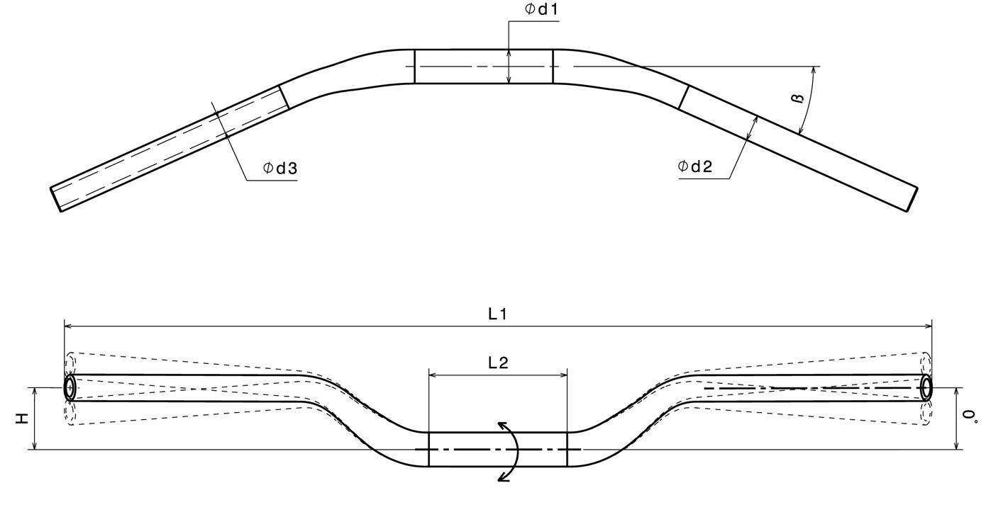 Rizoma Handlebar Ma006b Yamaha Majesty 400 Wiring Diagram Ma001
