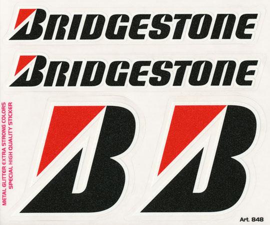 Bridgestone Stickers Motorcycle 4 Bridgestone Stickers